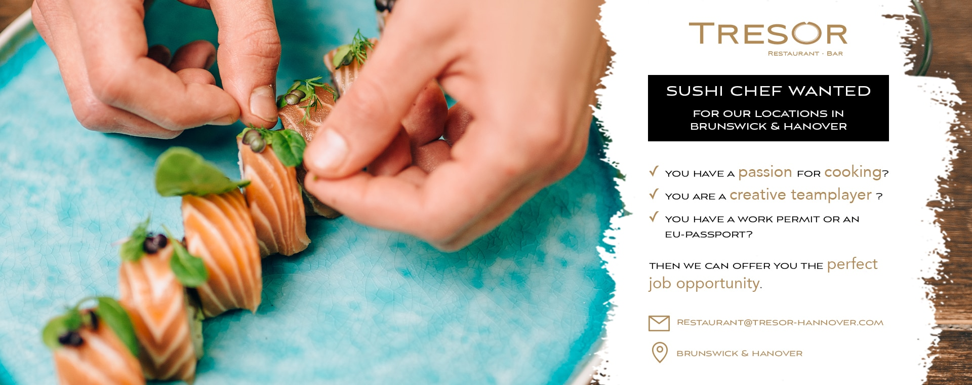 Titelbild Sushi-Chef